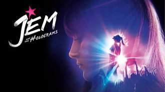 Netflix box art for Jem and the Holograms