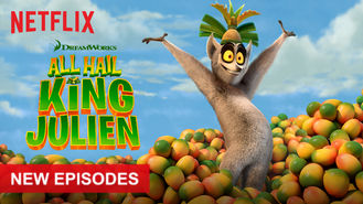 Netflix box art for All Hail King Julien - Season 5