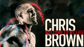 Netflix box art for Chris Brown: Welcome to My Life