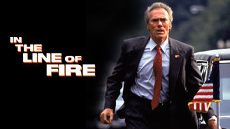In the Line of Fire (1993) on Netflix in the Netherlands